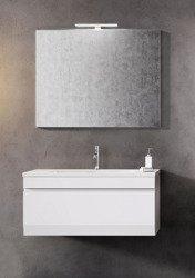 Oristo Szafka z umywalką i lustrem HORYZONT 90 cm
