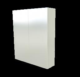 Szafka Scandic 841 z lustrem, biała 60 cm
