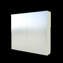 Szafka Scandic 842 z lustrem, biała 80 cm