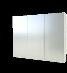 Szafka Scandic 843 z lustrem, biała 100 cm