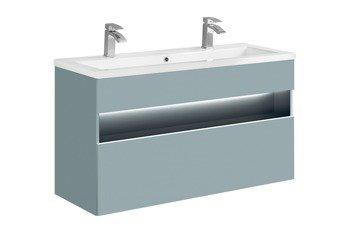 Szafka z umywalką 120 cm Bahama Mint + Spirit 120