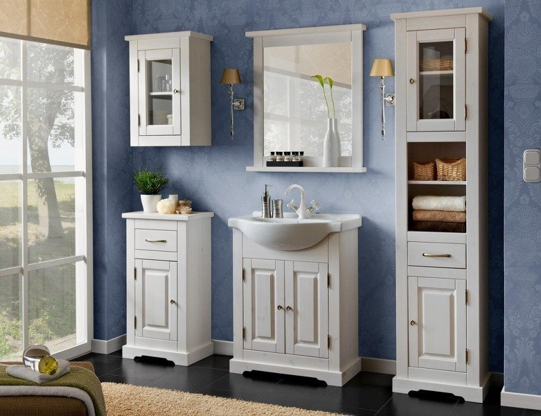 Drewniane meble łazienkowe Romantic 65