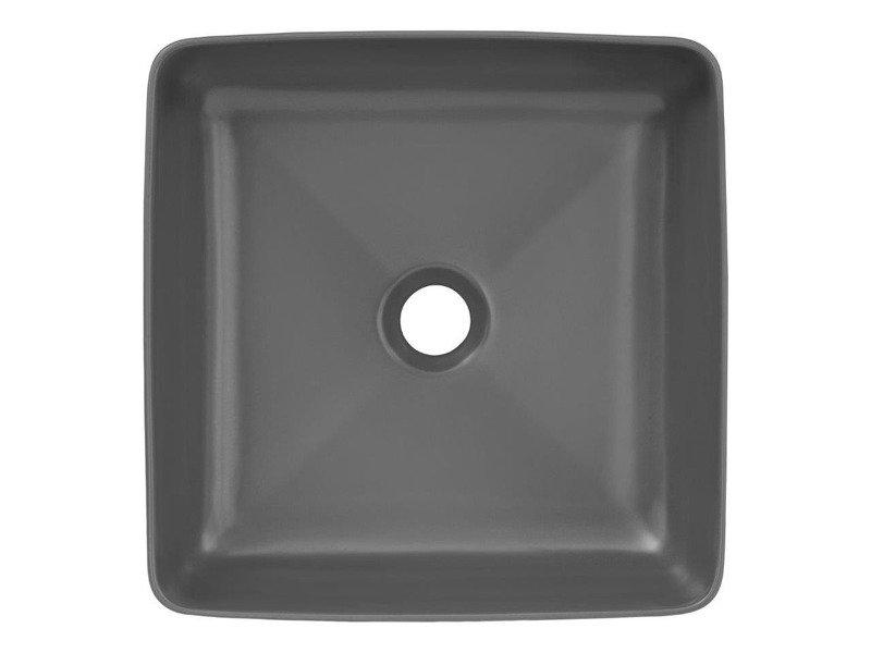 Nowoczesna umywalka E-6276 DARK MATT GREY