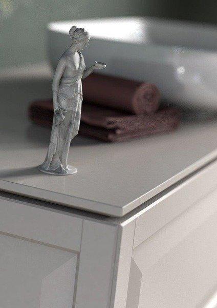 Oristo Blat uniwersalny Oristo 60 cm ciepły szary mat