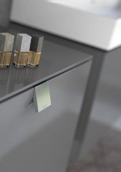 Oristo Szafka pod umywalkę 120 cm BOLD grafit połysk