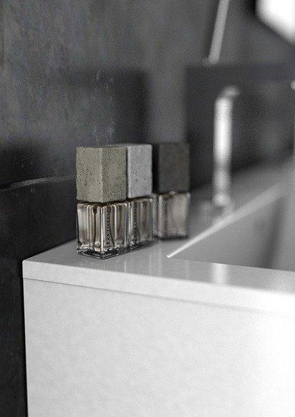 Oristo Szafka pod umywalkę 50 cm Silver szary mat