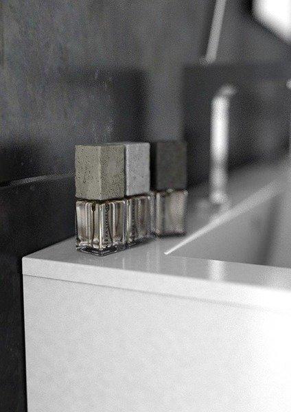 Oristo Szafka wisząca 50 cm Silver szary mat