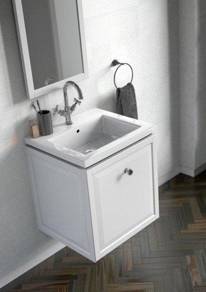 Oristo Zestaw mebli łazienkowych MONTEBIANCO 50 cm biały