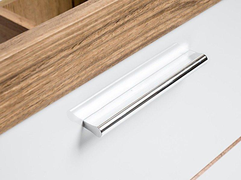 Podwieszana szafka pod umywalkę 60 cm Ibiza biała