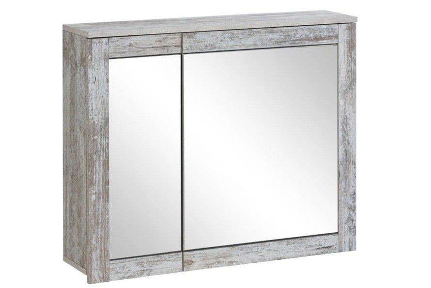 Prowansalska szafka z lustrem 85cm