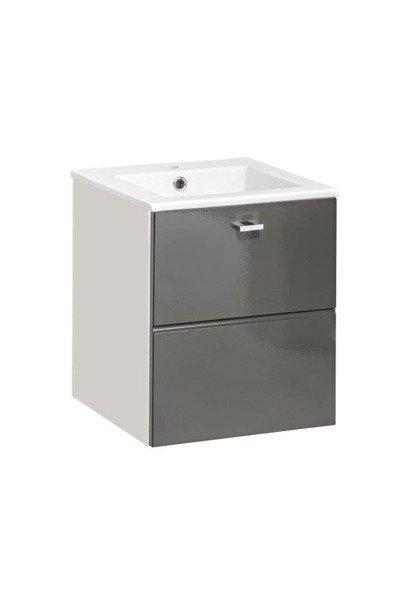 Szafka pod umywalkę 40 cm Finka Grey