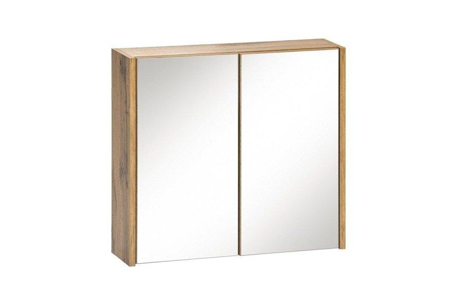 Szafka z lustrem 60 cm Ibiza biała