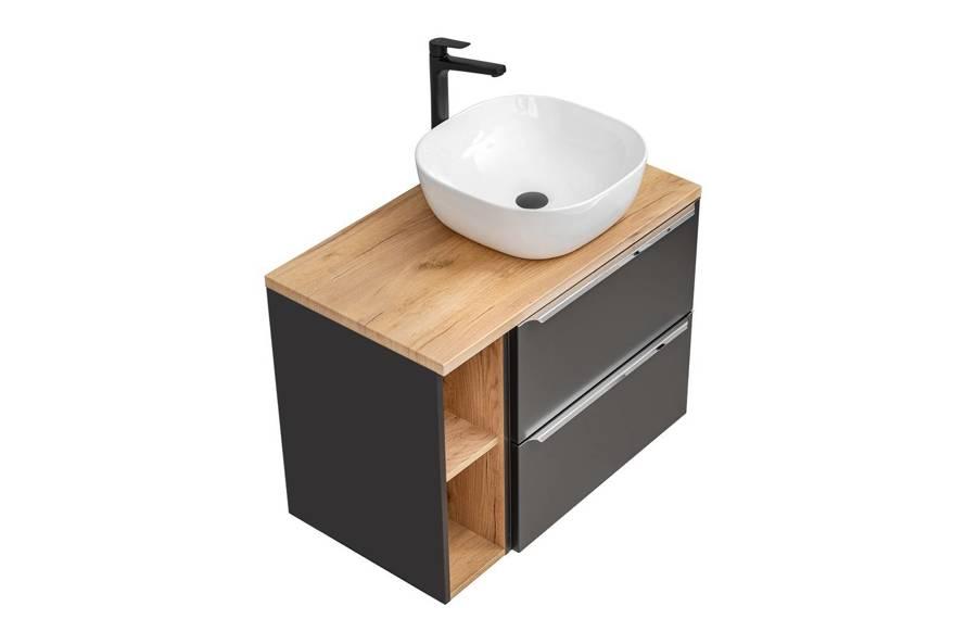 Szafka z umywalką 80 cm Capri Cosmos 820