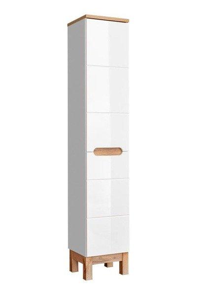 Zestaw mebli łazienkowych 80 cm Bali Biały z koszem
