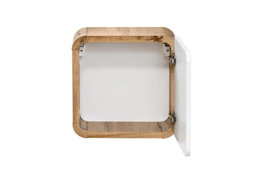 Zestaw mebli łazienkowych Aruba 50 cm z wąskim słupkiem