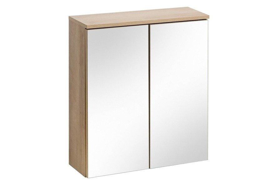 Zestaw mebli łazienkowych Remik Riviera 60 cm z szafką z lustrem